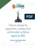 Info Conflic AGOSTO 2012 Def