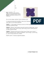 Flor cuatro pétalos