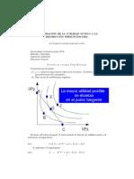 Maximizacion de La Utilidad (cobb douglas matematico)