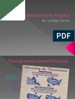 Ammendments Project2012