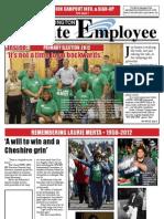 Washington State Employee newspaper, Aug 2012