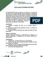 Analisis Financiero Generacion Valor