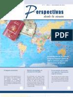 Revista científica Perspectivas desde la Ciencia. Noviembre / 2011