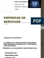 Proveedores de Servicios Exposicion