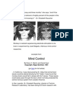 MIND CONTROL by Harry v. Martin and David Caul