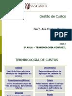 2a Aula Terminologia Custos SCamilo 2012_2