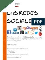 Cartel Recordatorio Fecha Redes Sociales