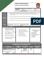 Plan y Prog de Evaluac 2º BLOQUE