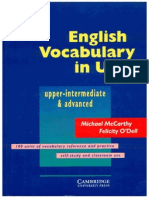 Vacabulary in Use Advanced