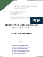 The Return of Sherlock Holmes_Free Ebook