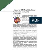 Migration Services IBM Tivoli Workload Automation