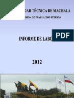 Informe Cei 2012