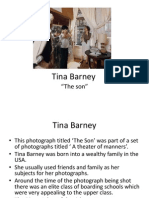 Tina Barney Presentation