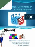 Segmentacion, Diferenciacion Y Posicionamiento Clase 4
