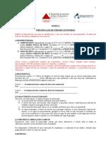Especificacao Unidades Autonomas - Casas Geminadas