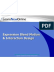 Expression Blend Motion & Interaction Design