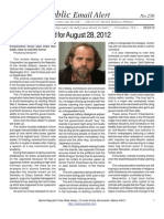 250 - Benjamin Fulford for August 28, 2012
