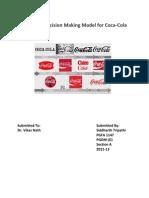 Consumer Behaviour Model
