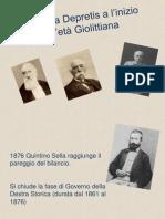 L'Italia Da Depretis a Giolitti.