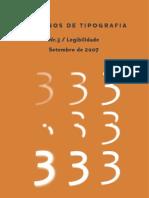 Caderno de Tipografia n 3