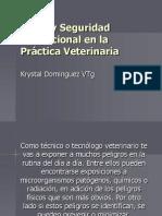 PROF. K. DOMINGUEZ 7. Salud y Seguridad Ocupacional en La Practica Veterinaria