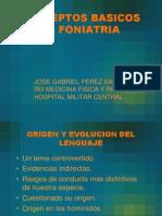 Conceptos Basicos en Foniatria