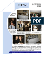 October 2012 UC Newsletter