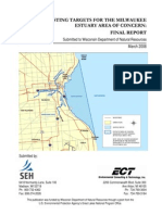 Delisting Targets for the Milwaukee Estuary AOC Final Report