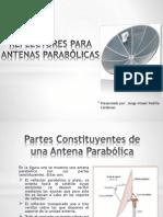 REFLECTORES PARA ANTENAS PARABÓLICAS