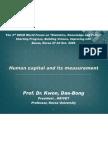 Calculating Human Capital