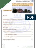 Plan Anual Dpto. FEI 2012-13