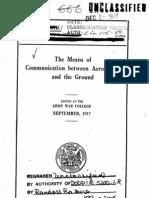 Aviation Communication Methods (1917)