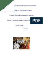 Trabajo de Educacion Artistica (PAU)
