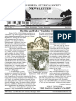 Fall 2012 Newsletter - North Berrien Historical Society
