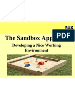 The Sandbox Theory - Improving Our Working Environment