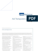 2012 Aid Transparency Index