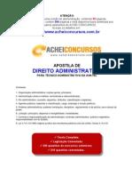 Apostila de Noções de Direito Administrativo para Técnico Administrativo da ANATEL
