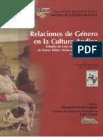 Relaciones de Género en la Cultura Andina. Estudio de caso en las comunidades de Irama Belén (Achacachi), Quirambaya y Chillcani (Sorata). Elizabeth Andia Fagalde