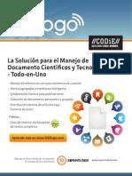 La Solución para el Manejo de Documento Científicos y Tecnológicos - Todo-en-Uno