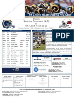 Week 5 - Rams vs. Cardinals