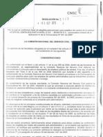 CNSC Resolucion 3143 Del 13 de Septiembre de 2012