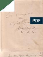 Πρακτικά Συλλόγου Μιραλιωτών, Brockton Mass., 1918