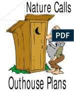 When Nature Calls Outhouse Plans