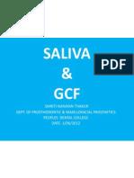 Saliva & Gcf