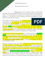 Nota e Indicaciones Porta Fidei