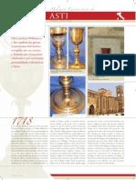 El segundo milagro eucarístico de Asti, Italia