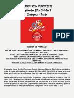 Clasico Rcn Claro 2012 Boletin 24 Golpe de Mano de Oscar Sevilla