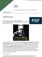Tracking a troll….. « BLITZKRIEG BOPP