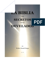 LA BIBLIA Secretos Develados
