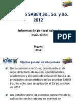 Presentacion Divulgacion Pruebas Saber 359 2012